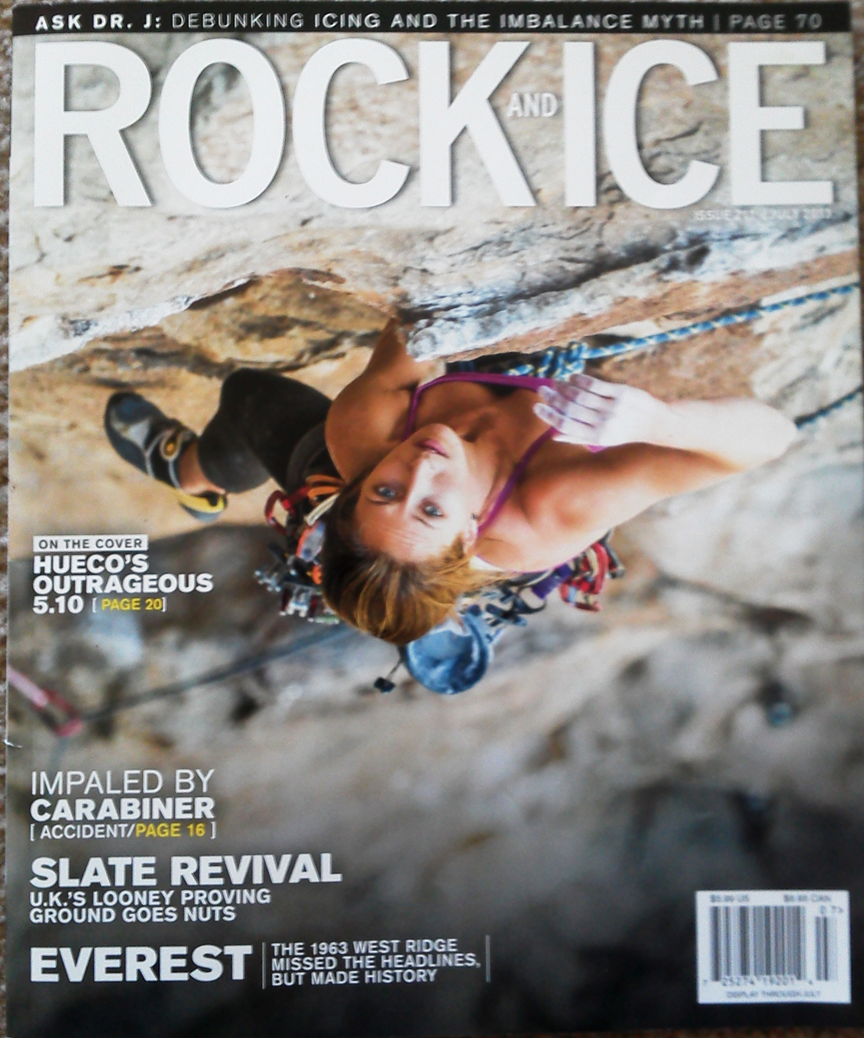 Rock and Ice-July Issue